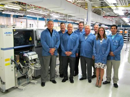 Mario Sciberras, President – Saline Lectronics, Eric Hassen, VP and General Manager – Saline Lectronics, Mitch DeCaire, Americas' Sales Manager – Cogiscan,  Scott Sober, VP of Quality and Continuous Improvements – Saline Lectronics, Dave Trail, President – Horizon Sales, William Baker, Director of Operations) – Saline Lectronics, Davina McDonnell, Director of Marketing – Saline Lectronics, Jason Sciberras, Manufacturing Manager, Saline Lectronics