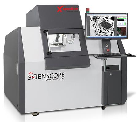The X-Scope 6000 X-Ray Inspection System is a Digital fully programmable CNC controlled x-ray inspection system that allows operators to program inspection and measurement routines with point and click ease.
