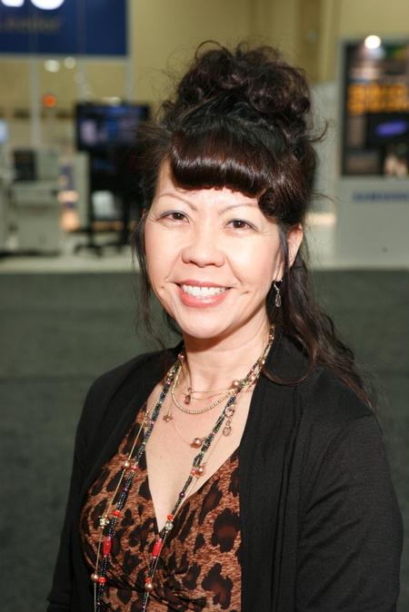 Michelle Ogihara, Seika's Senior Sales Manager and SMTA Director, VP of Communications,