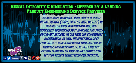 Signal Integrity & Simulation - Offered by a Leading Product Engineering Service Provider in Silicon Valley, California. http://goo.gl/MVLstZ