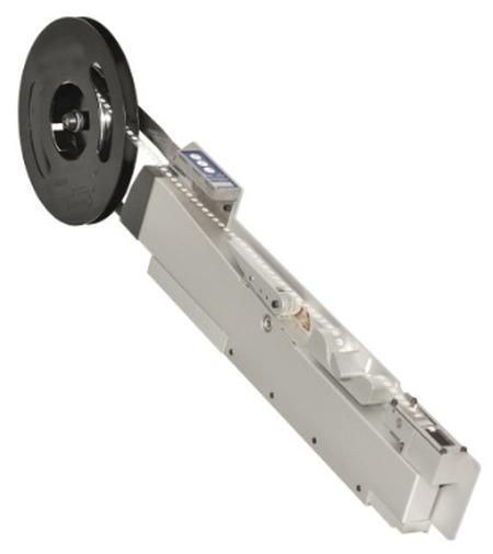 The new 30 mm Slimline Label Feeder provides 50 percent space saving in a pick-and place-system.