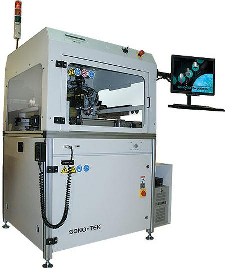 lexiCoat programmable XYZ ultrasonic coating system.