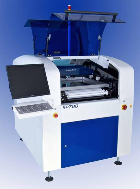 The Speedprint SP700avi screen printer delivers exceptional value and best-in-class accuracy.
