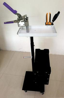 Splicing cart with tools