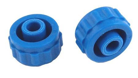 Blue End Caps