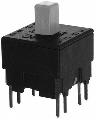UNIMEC Double-Pole Pushbutton Switch.