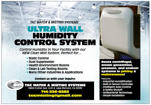 Humidity Control Equipment : Ultra wall humidity control system