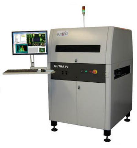 The Ultra IV Tri-Color Technology system provides the ability to use multiple angles of light to determine different characteristics of each component and lead inspected all from a single image