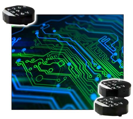 New Yorker Electronics to supply new United Chemi-Con (UCC) Flat Chip Aluminum Polymer Capacitors with Super-Low Profile