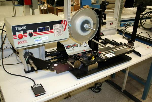 V-Tek Tape and Reel Machines