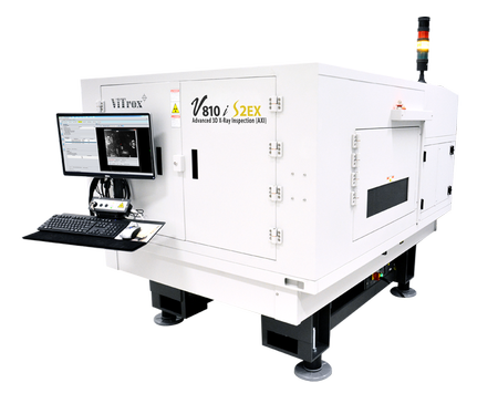 V810i S2EX : Advanced 3D X-ray Inspection System (AXI)