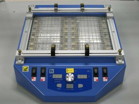 IR Pre-heater, designed to work in conjunction with hand soldering and desoldering tools.