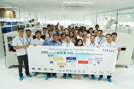 SCPs are the driving force of achieving great sales of ViTrox AOI and AXI systems.