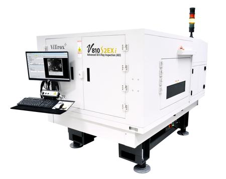 V810 S2EXi In-line 3D Advanced X-Ray Inspection system (AXI).