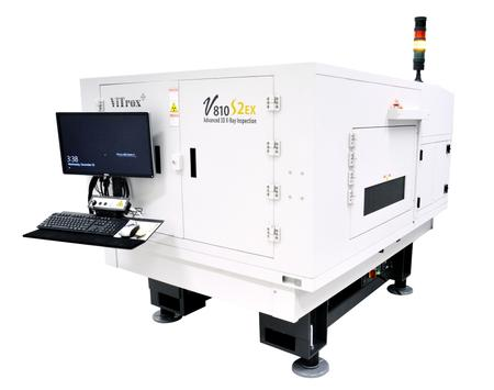 V810 S2 EX 3D In-line Advanced X-Ray Inspection System.