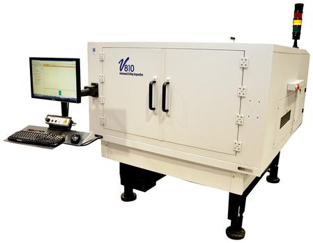 V810 In-Line 3D Automated X-Ray Inspection System (AXI).