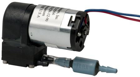 The Mini Vacuum Pumps for OEM applications (VMP1621CN and VMP1625MX) can be used for applications requiring air flow, vacuum or air pressure.