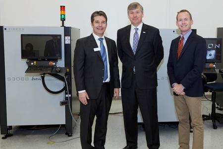 Congressman Rob Woodall (R-GA-7) recently visited Viscom's facility in Duluth, GA for its 30th anniversary event.