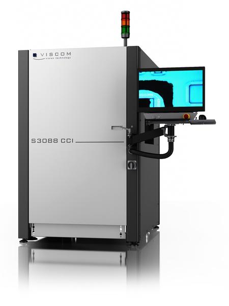 Viscom S3088 CCI inspection system for protective conformal coating inspection