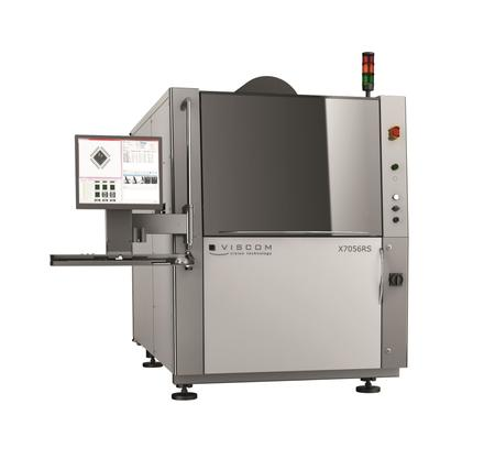 Viscom's X7056 3D optical and simultaneous 3D X-ray inspection.