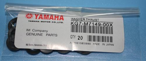 Yamaha Washer thurust