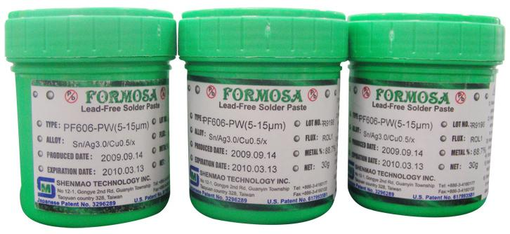 Formosa Water Soluble Solder Paste