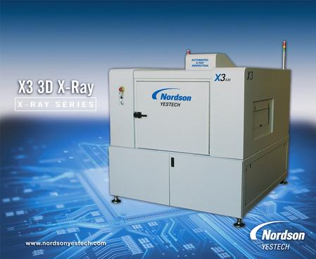 X3 3D X-Ray - Automated In-line X-Ray Inspection System.