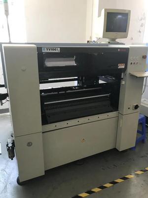 Yamaha YV100X Pick and place machine with auto tray