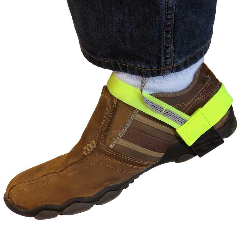 High Visibility Heavy Duty ESD Heel Grounders