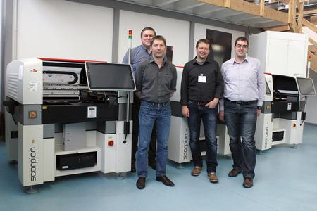 Zollner Invests in Dispensing Systems from Essemtec