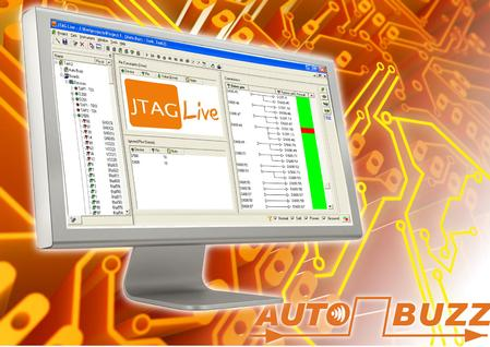 Autobuzz is a tool that learns a connectivity signature of all boundary-scan parts within a design from only the BSDL models of those parts.