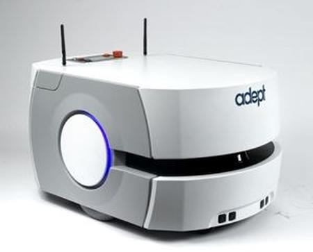 The Adept Lynx self-navigating Autonomous Indoor Vehicle (AIV) will be shown in Adept's booth 354 at Automate 2013, January 21 - 24 in Chicago IL. The AIV is designed for autonomously moving materials from point to point which may include confined passageways as well as dynamic and peopled locations.