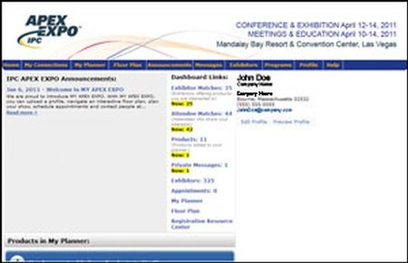 APEX EXPO Dashboard and Interactive Planner