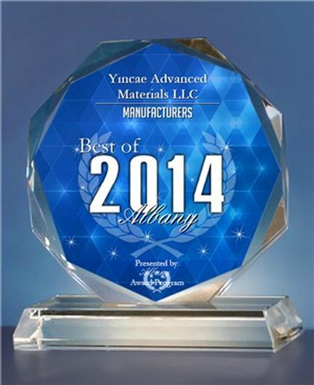 2014 Best of Albany Awards for Manufacturers