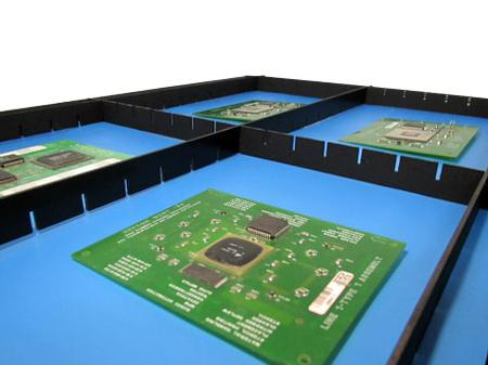 ESD Tray Divider Board View