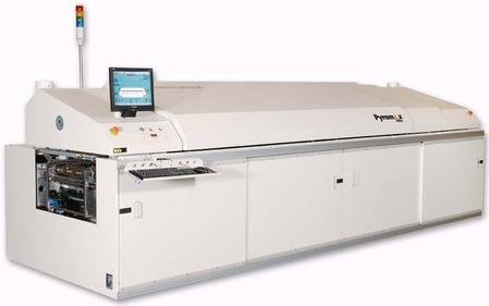 Pyramax 100N™ convection reflow oven.