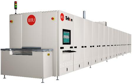 BTU's Tritan™ metallization firing system.