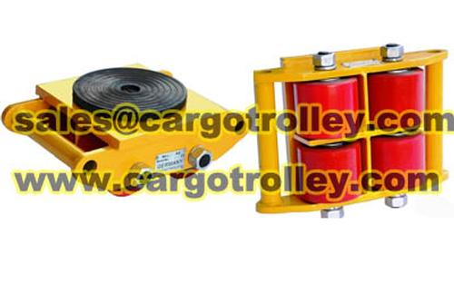 California Instruments Cargo pallet trolley