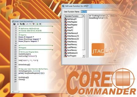 By using JTAGLive and CoreCommander, engineers can activate the on-chip debug modes of a range of popular cores to affect kernel-centric testing.