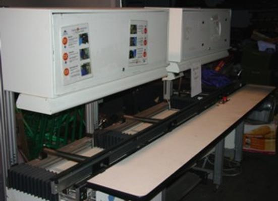 Crown Simplimatic inspection line