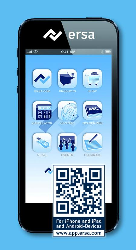 This brand new Ersa App features numerous useful functions, while also providing access to copious amounts of information. It is compatible with Apple and Android smartphones, easy to install and it is free-of-charge