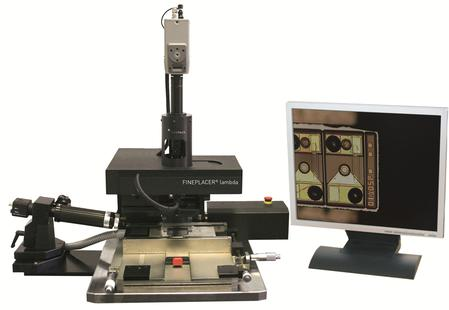 The FINEPLACER® lambda is a flexible sub-micron bonder used for precise placement, die attach and advanced packaging.