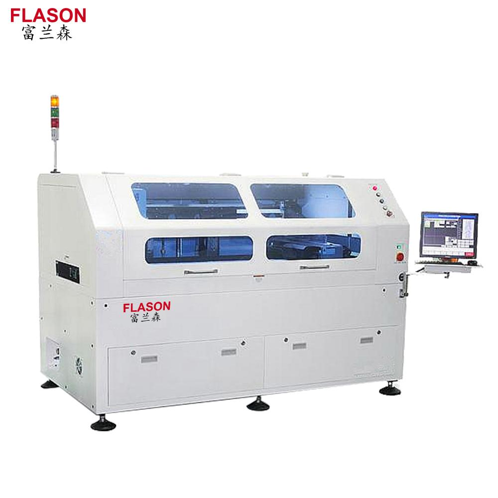 Flason Smt Automatic 1200mm Solder Paste Printer For Assembly Line Pcb Flexible Dip Products Circuit Board