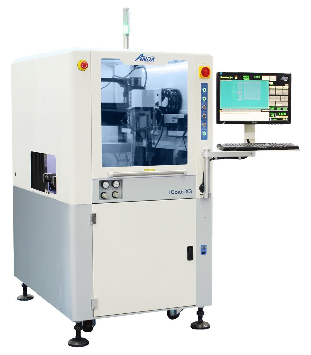 iCoat-X3 Intermediate Selective Conformal Coating Machine