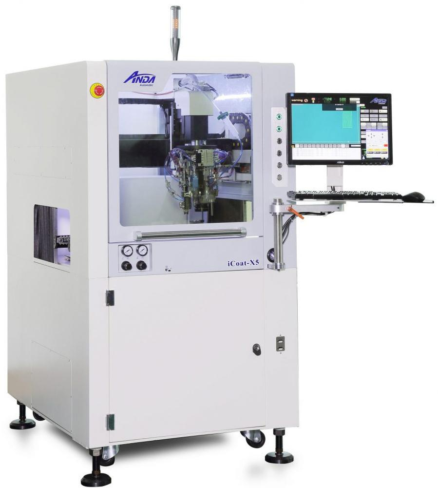 iCoat-X5 Advanced Selective Conformal Coating Machine