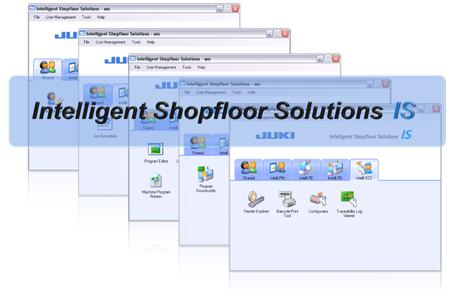 The Intelligent Shopfloor Solutions (IS) is a system product that inherits the functions of the conventional production line control software and the setup control system (IFS-X2).