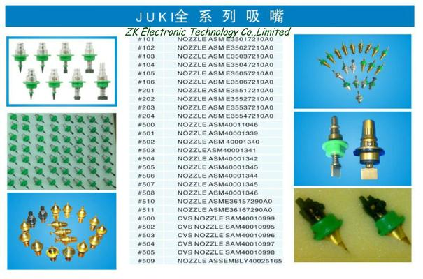 Juki nozzles 2050/2060 for SMT