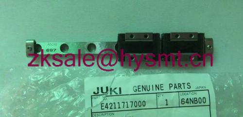 Juki juki smt parts y hold linear way e4211717000