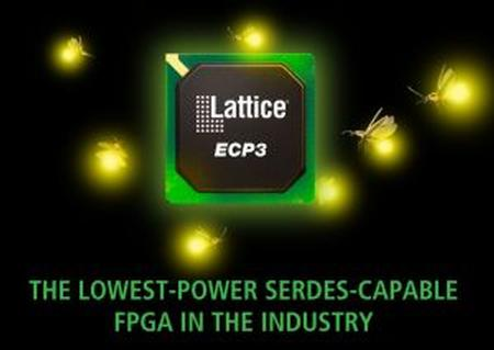 The LatticeECP3 family, is the third generation high value FPGA from Lattice Semiconductor, which offers the industry's lowest power consumption and price of any SERDES-capable FPGA device.