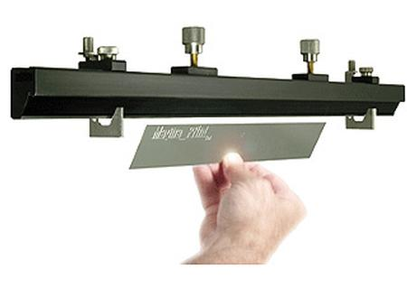 Magna-Print™ universal blade holding system.
